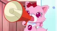 Garnet shouting