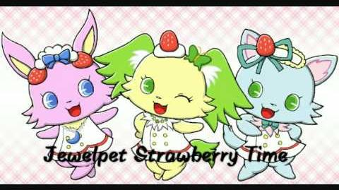 Jewelpet Strawberry Time - Peridot, Luna and Milky tribune