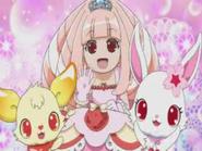 Ruby, Gumimin and Princess Mana