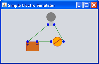 Electronic simulator off