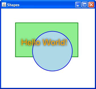 Lang shapes