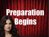 Preparation Begins