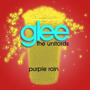Purple rain slushie