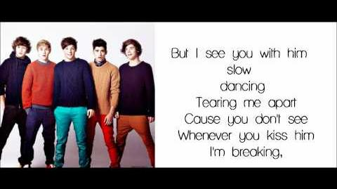 One Direction-I Wish(Lyrics Pictures Video)