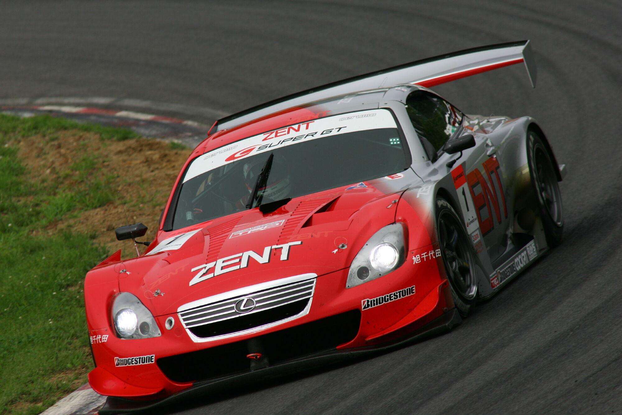 Team CERUMO (Lexus SC430) | Super GT-Pedia | FANDOM powered by Wikia