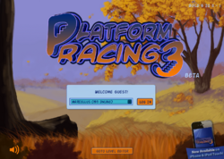 Platform Racing 3 - Thanksgiving Background