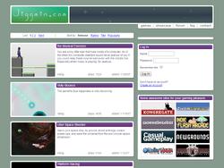Jiggmin.com Homepage 2007-2009
