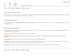 Blossom-Server.com - Homepage