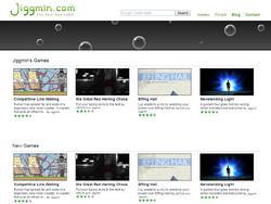 Jiggmin.com Homepage 2009-2011