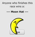 Platform Racing 2 - Moon Hat Size