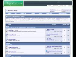 Jiggmin's Village - Homepage 2008-2009