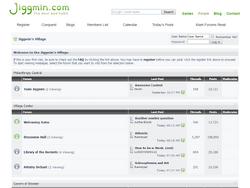 Jiggmin's Village - Homepage 2009-2011