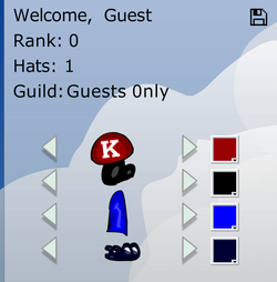 Platform Racing 2 - Guest in Guild