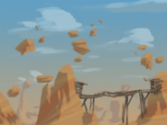 Platform Racing 3 - Desert Background