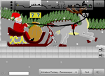 Platform Racing 2 - Santa's Sleigh Race!
