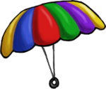 Platform Racing 3 - Parasol Hat