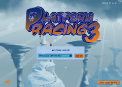 Platform Racing 3 - Christmas Background