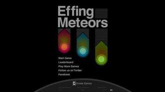 Effing Meteors - Menu Theme