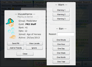Platform Racing 2 - Moderator Tools