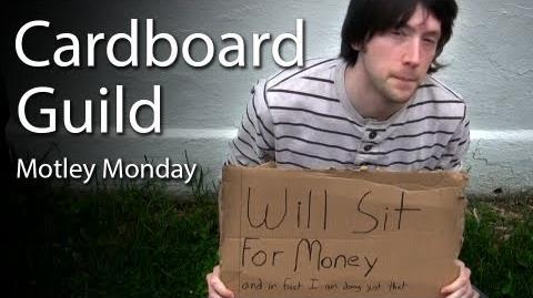 Motley Monday 20 - Cardboard Guild