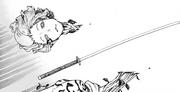 Shion beheads Zhu Jin