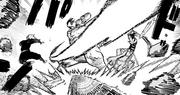 Rokurota vs Gabimaru and Sagiri