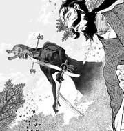 Gantetsusai sees a Monshin