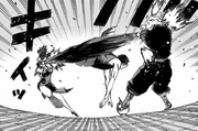 Gabimaru and Yuzuriha vs Ran