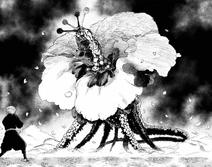 Gabimaru vs Kishikai Zhu Jin