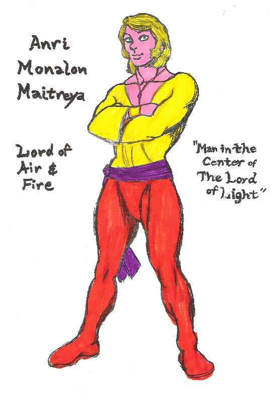 Anri Monalon Maitreya (Continuum-59343921) | Jim Bader Fanon