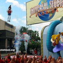 Jimmy Neutron's Nicktoon Blast Grand Opening