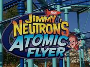 Jimmy Neutron's Atomic Flyer sign