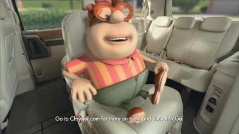 Chrysler Town & Country - Jimmy Neutron HD