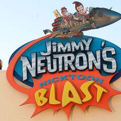 Jimmy Neutron's Nicktoon Blast Entrance