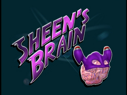 Sheen's Brain (Title Card)