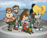 Jimmy and Friends in 2D