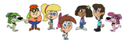 Timmy Turner and Friends (Scooby Doo)