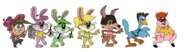 Timmy and Friends As Looney Tunes Characters