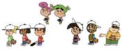 Timmy and Friends Peanut Baseball