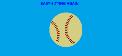 Baby-Sitting Again Title Card