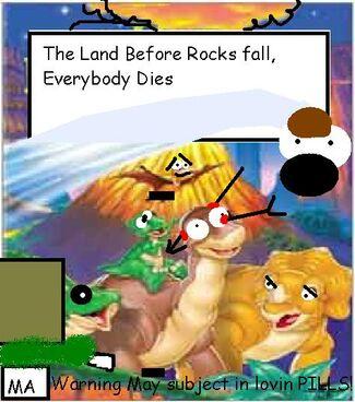 DVD cover of Rocks Fall Everyone Dies