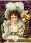 Рекламный щит Кока - Колы в 1903 году