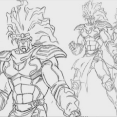Star Platinum Full Body Reference