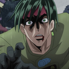 Rohan cries out to his friends, unable to tell them Kira's true identity.