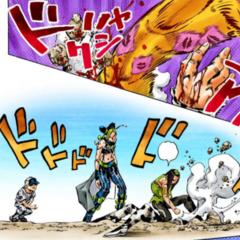 Rikiel defeated by Kiss