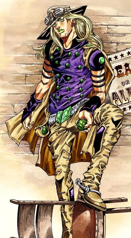 Jayro Zeppeli, sans doute mon personnage préféré de JoJo
