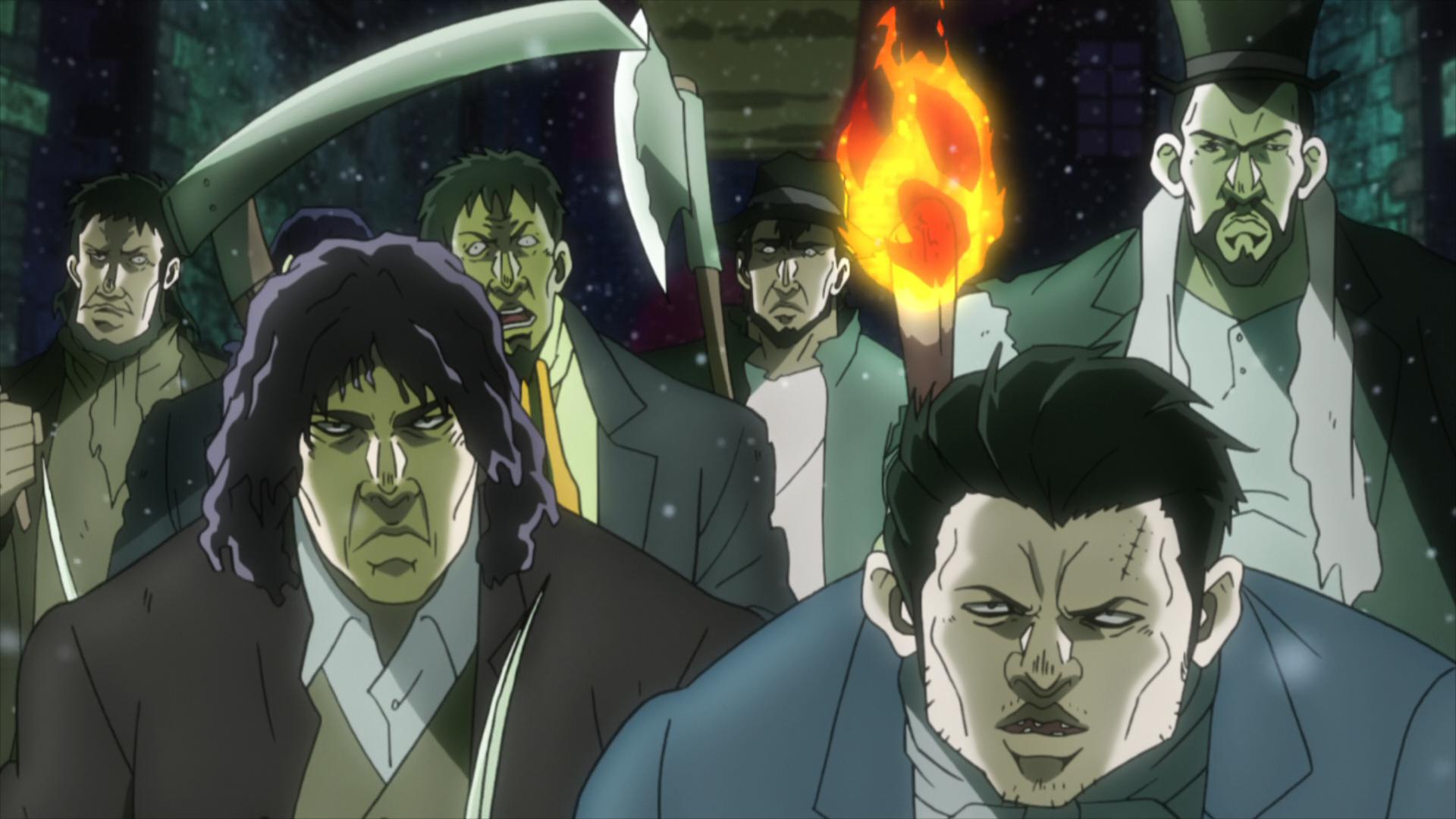 Ogre Street Criminals Anime