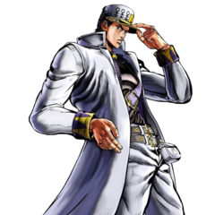 Part 4 Jotaro Render, <i>Eyes of Heaven</i>