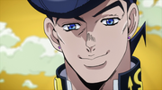 DU ep13 josuke big smile