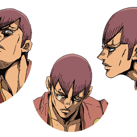 Luca expression key art in the anime